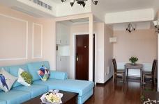 110平三室两厅粉色简美图_7