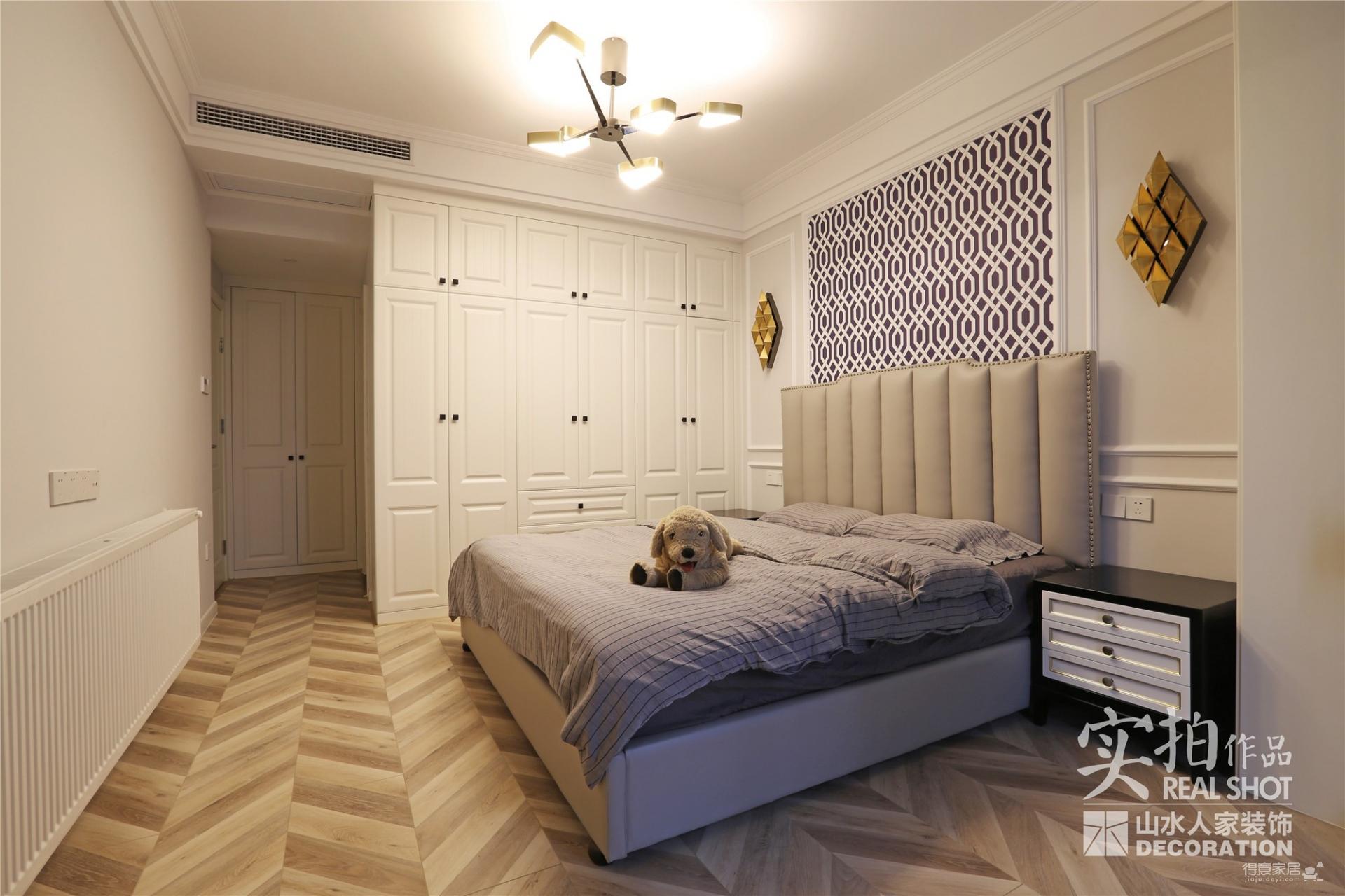 三室两厅126美式轻奢图_15