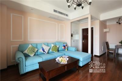 110平三室两厅粉色简美