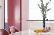 色彩明艳的105平现代简约时尚3居图_8