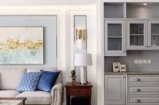124㎡美式风格装修效果,打造轻奢文艺的家!图_7