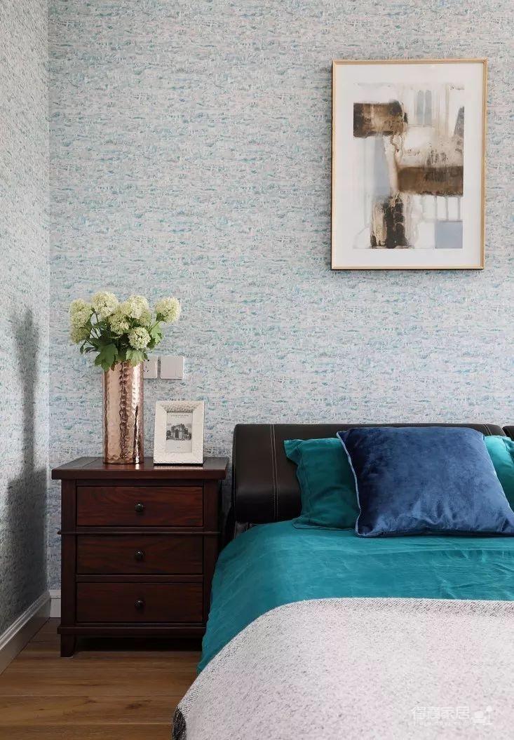 124㎡美式风格装修效果,打造轻奢文艺的家!图_11