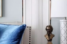 124㎡美式风格装修效果,打造轻奢文艺的家!图_5