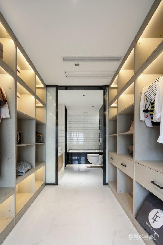 120㎡简约北欧风二居室装修设计,休闲惬意的舒适美家
