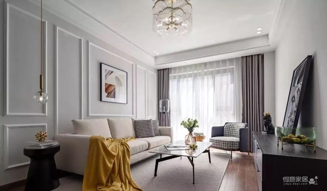 97㎡混搭风格装修,优雅、浪漫、精致、舒心的家!图_1