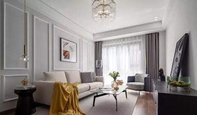 97㎡混搭风格装修,优雅、浪漫、精致、舒心的家!