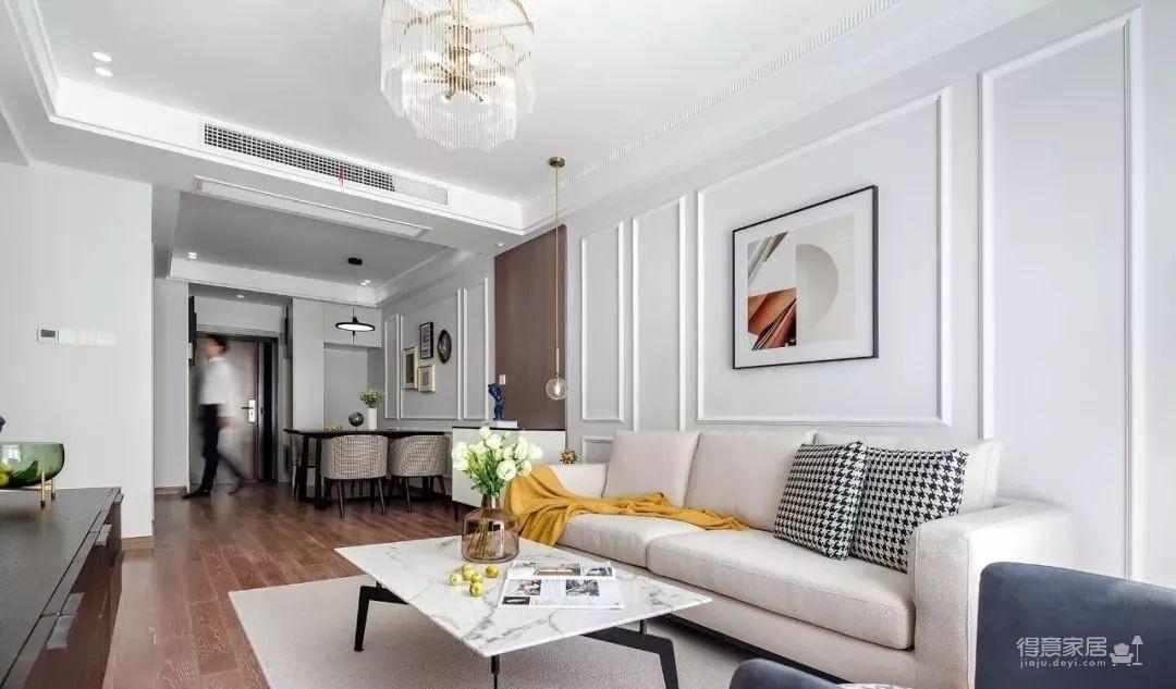 97㎡混搭风格装修,优雅、浪漫、精致、舒心的家!图_3