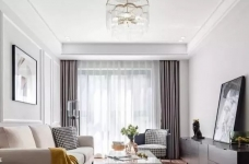 97㎡混搭风格装修,优雅、浪漫、精致、舒心的家!图_2