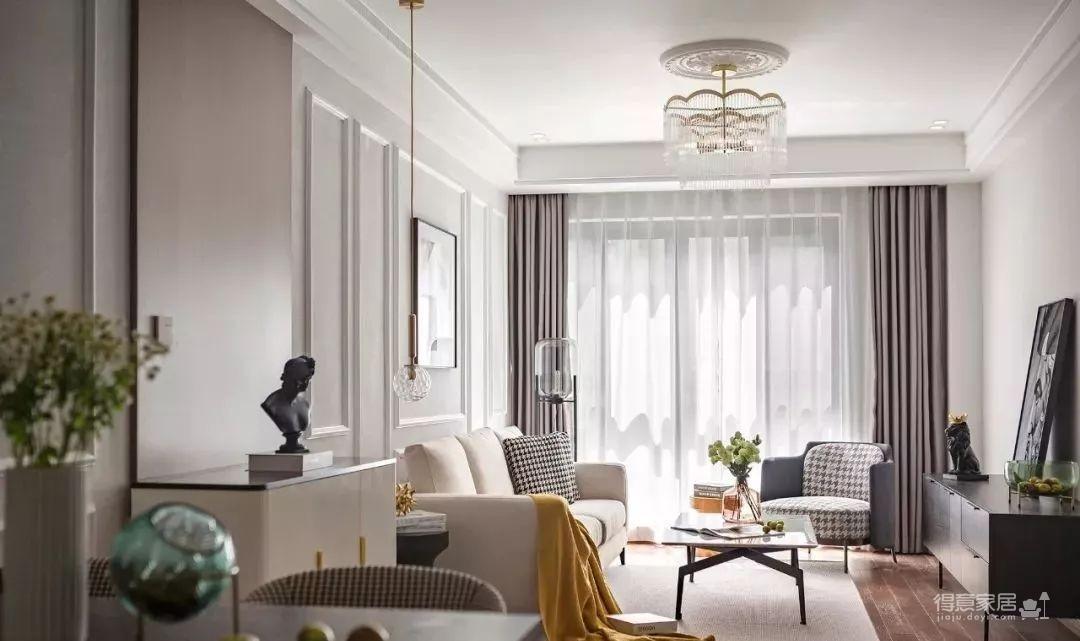 97㎡混搭风格装修,优雅、浪漫、精致、舒心的家!图_7