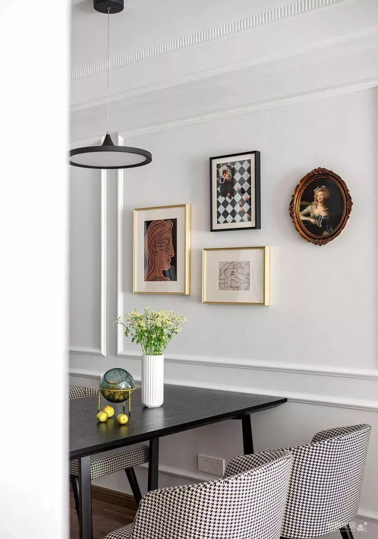 97㎡混搭风格装修,优雅、浪漫、精致、舒心的家!图_9