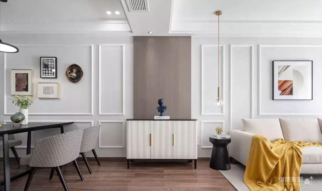 97㎡混搭风格装修,优雅、浪漫、精致、舒心的家!图_6