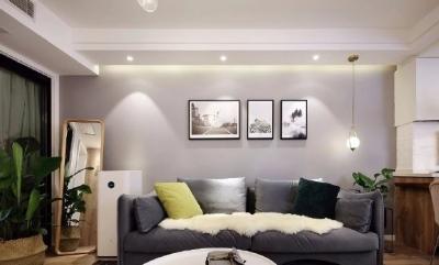87㎡老房改造换新装修方案,呈现了一个温馨又简约的家。