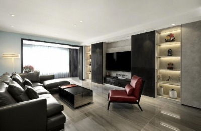 简约现代风四居室装修设计,要的就是这种简单纯粹的舒适感