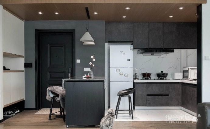 89㎡简约现代风二居室装修设计,喜欢这种惬意休闲的舒适图_8