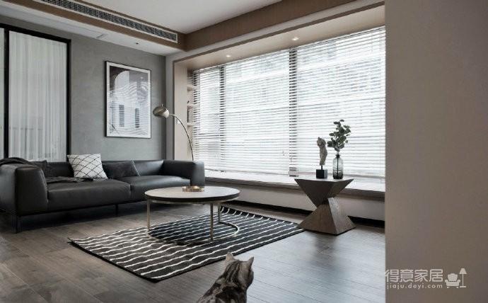 89㎡简约现代风二居室装修设计,喜欢这种惬意休闲的舒适图_3