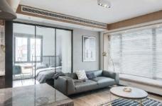 89㎡简约现代风二居室装修设计,喜欢这种惬意休闲的舒适图_4