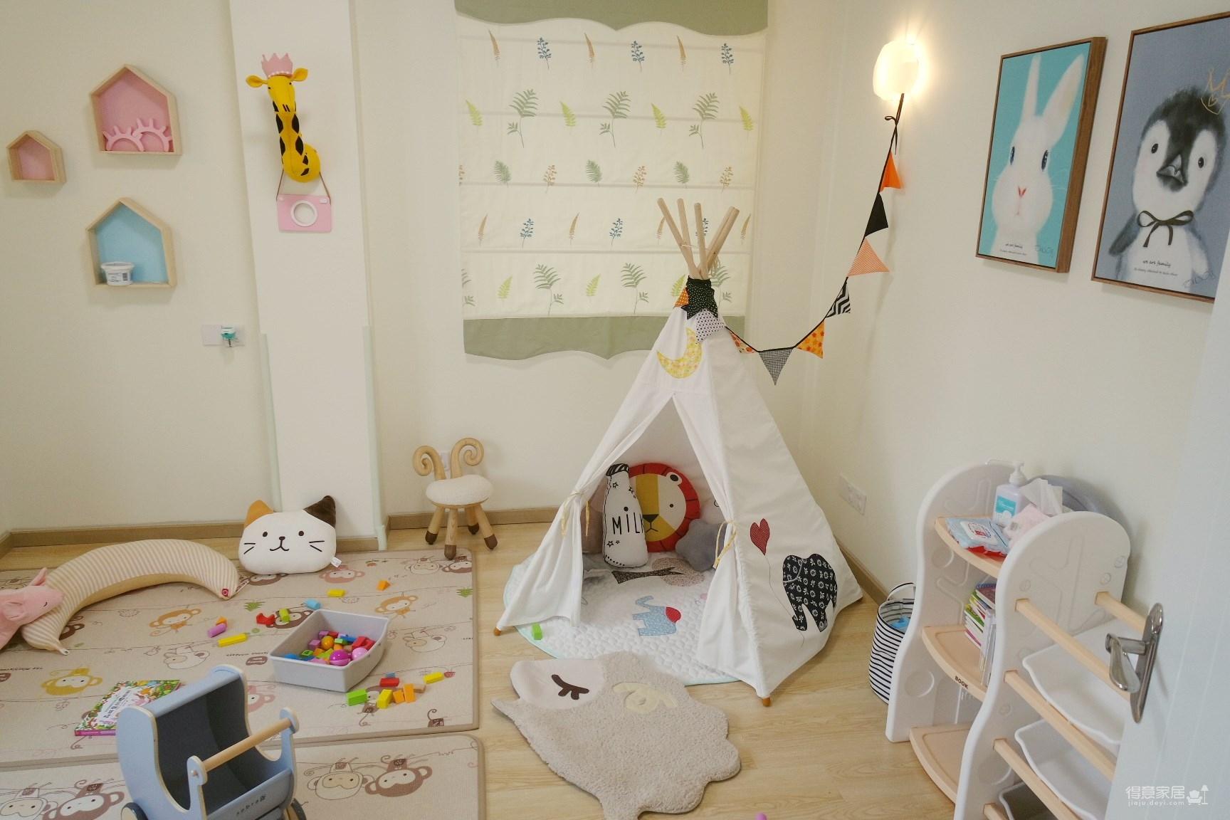 为刚出生的女儿打造一个简约原木风的快乐成长窝!
