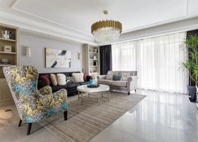 198m²温馨美式四房,美得不像话!