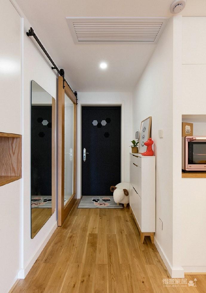86㎡日式混搭风三居室,简约舒适,非常惬意的家! 图_3