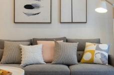 86㎡日式混搭风三居室,简约舒适,非常惬意的家! 图_1