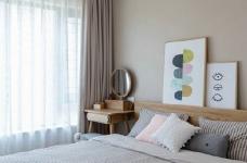 86㎡日式混搭风三居室,简约舒适,非常惬意的家! 图_6