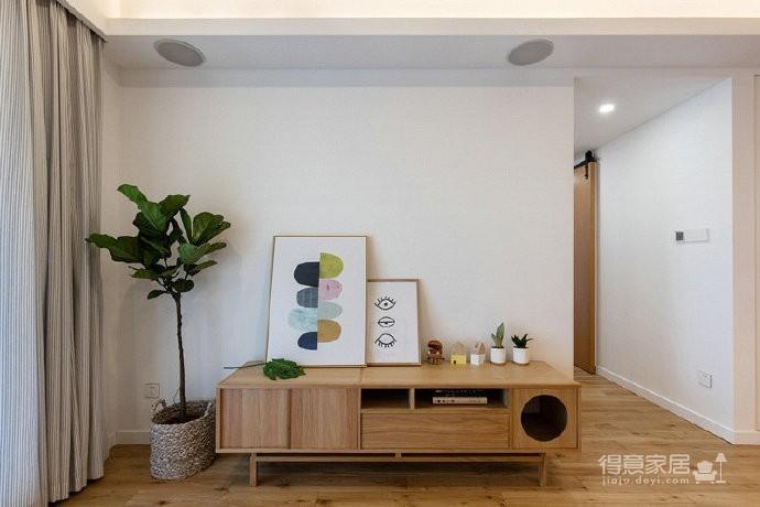 86㎡日式混搭风三居室,简约舒适,非常惬意的家! 图_2