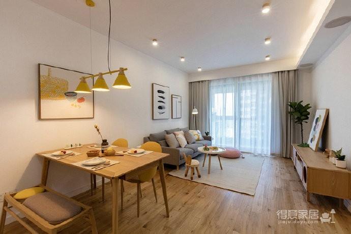 86㎡日式混搭风三居室,简约舒适,非常惬意的家! 
