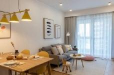 86㎡日式混搭风三居室,简约舒适,非常惬意的家! 图_7