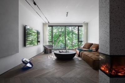 自然而极简的公寓设计,舒适感爆棚!