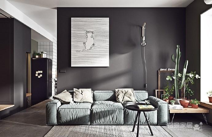 一个人住这样的Mini 公寓好舒服! 