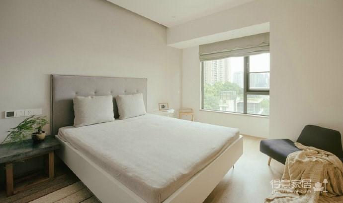 日式简约设计,柔和舒服的家!
