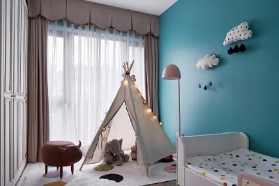 95㎡清新北欧风三居室,一个有态度的生活空间
