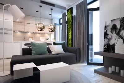 现代简约风三室一厅案例精选
