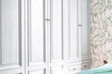 潋一室幽蓝,守一室繁华——133平现代美式图_4