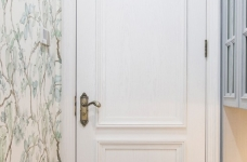 潋一室幽蓝,守一室繁华——133平现代美式图_5