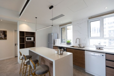 把厨房面积扩大一倍、做出8㎡超大衣帽间,90后设计师打造北欧风之家!