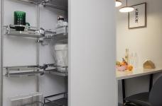 三伏2019新作┃ 我烹饪美食,你看书写字,1+1>2的餐厨空间太美妙!图_14