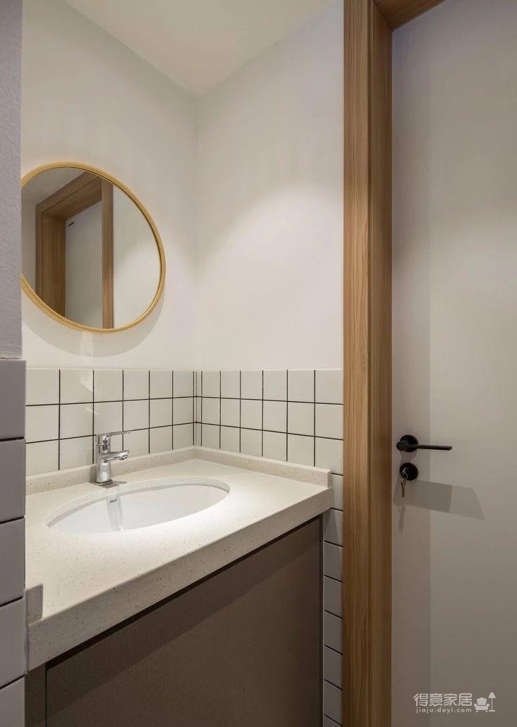 125㎡日式风格装修,清新淡雅的暖心之家!图_12