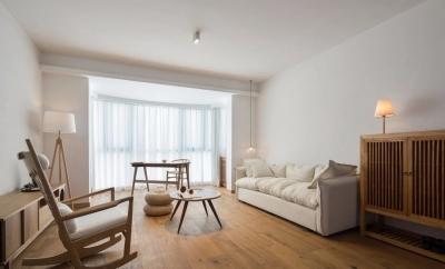 125㎡日式风格装修,清新淡雅的暖心之家!