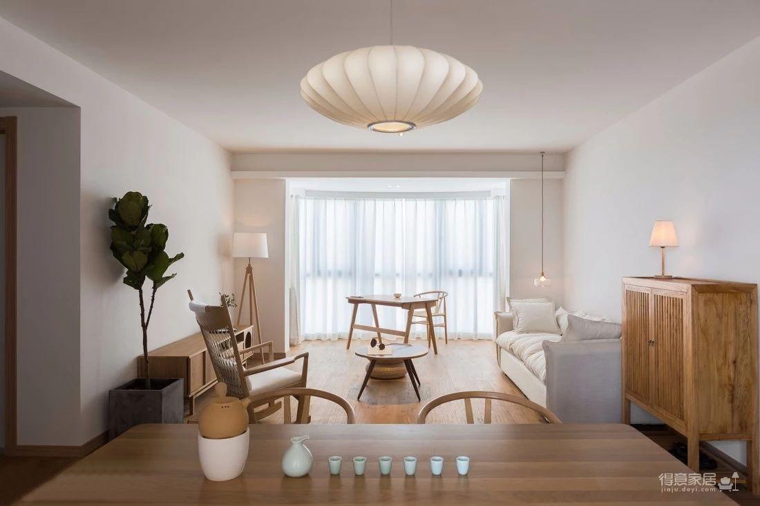 125㎡日式风格装修,清新淡雅的暖心之家!图_5