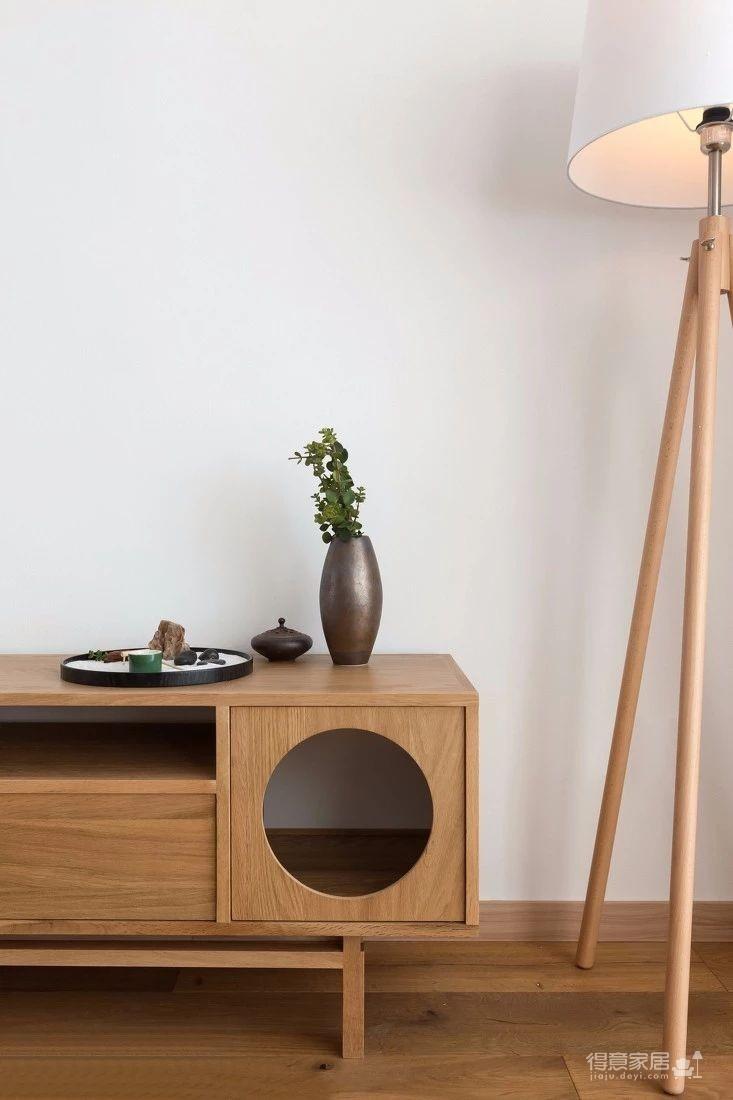 125㎡日式风格装修,清新淡雅的暖心之家!图_2