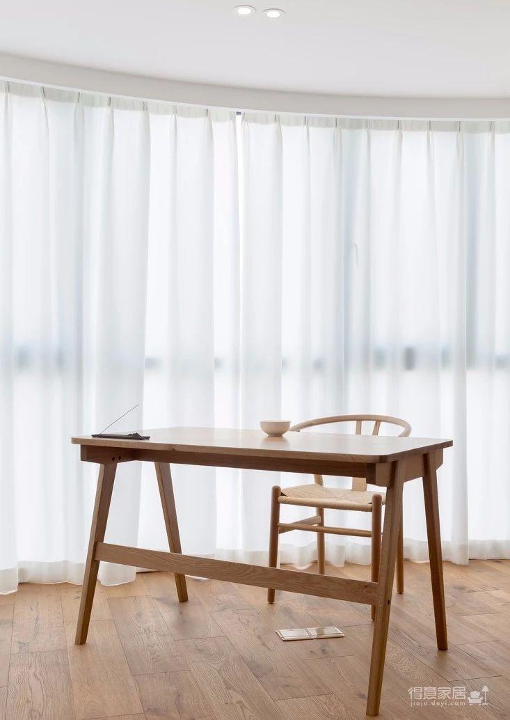 125㎡日式风格装修,清新淡雅的暖心之家!图_6