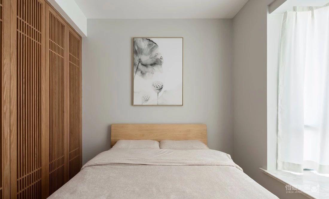 125㎡日式风格装修,清新淡雅的暖心之家!图_11
