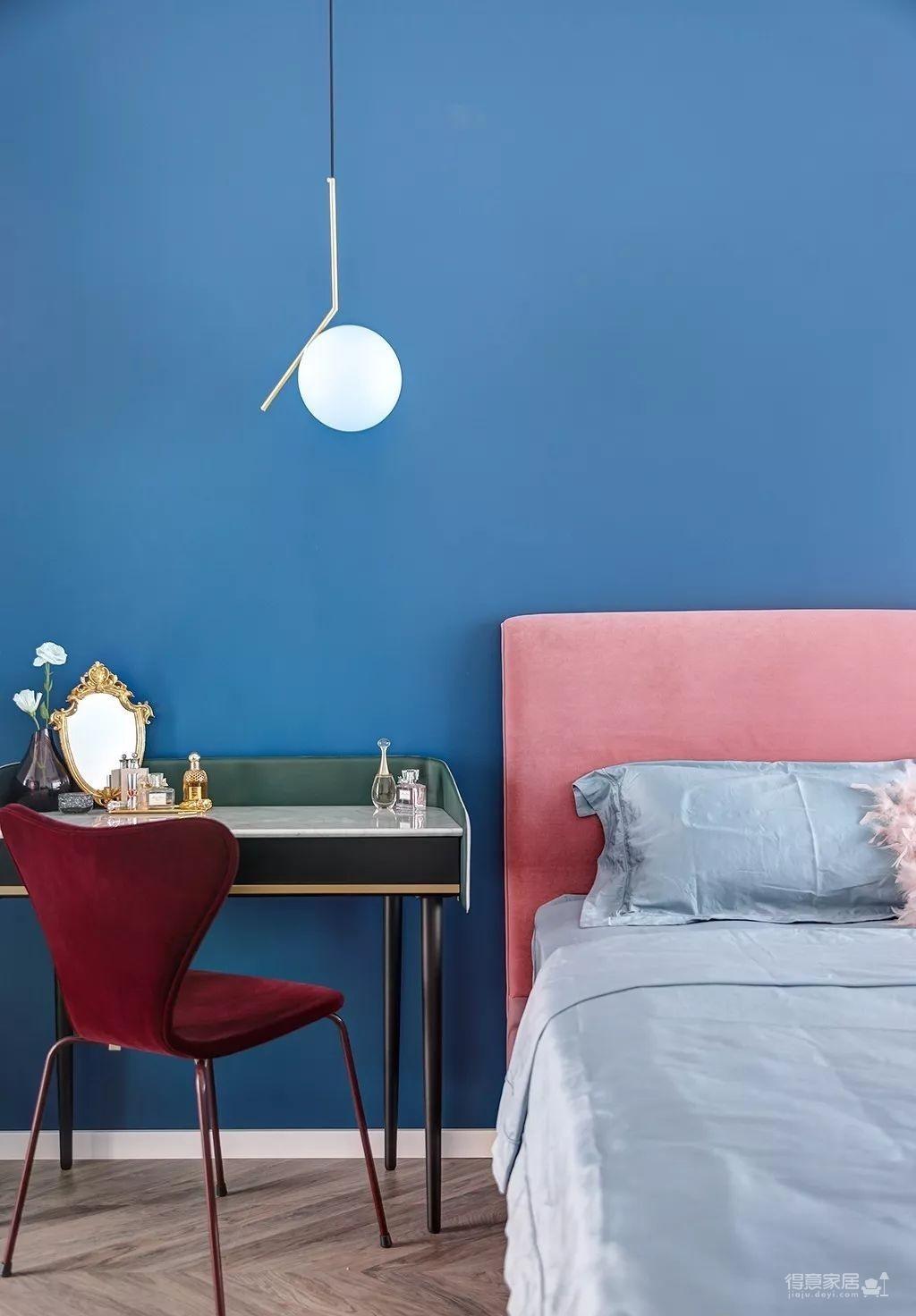 143㎡法式轻奢风格装修,加点色彩、添点格调,美得更高级!图_17