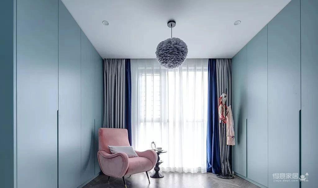 143㎡法式轻奢风格装修,加点色彩、添点格调,美得更高级!图_19
