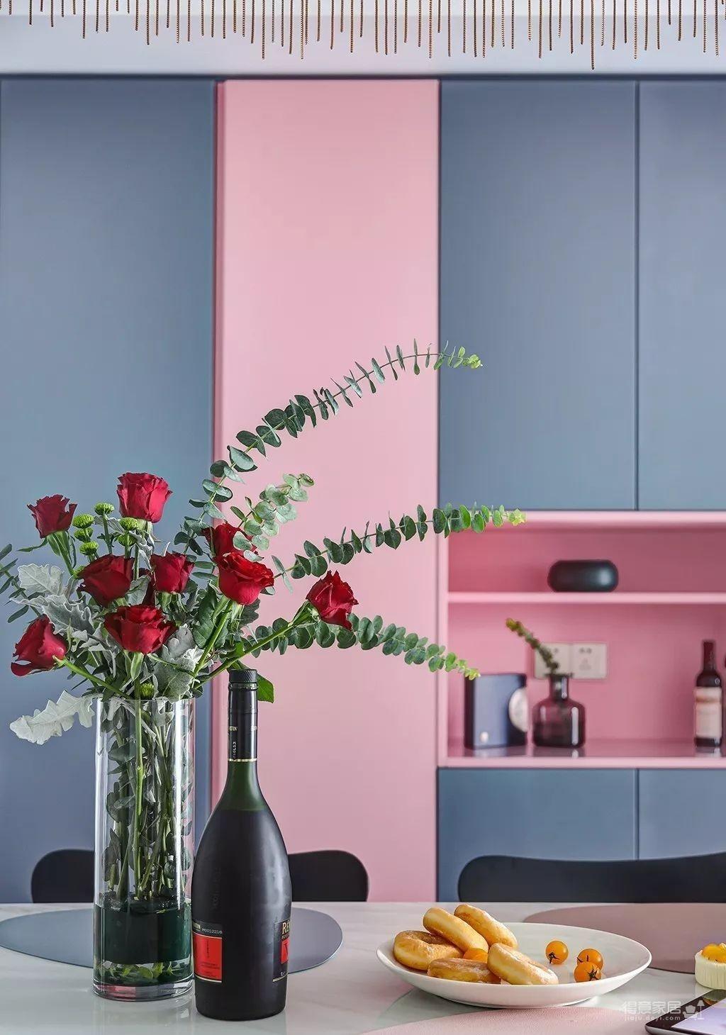 143㎡法式轻奢风格装修,加点色彩、添点格调,美得更高级!图_10