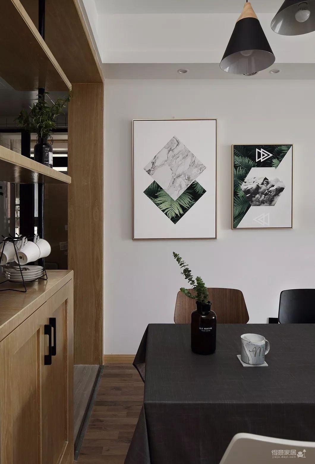 80平现代简约两居室,原木风好温暖!图_18