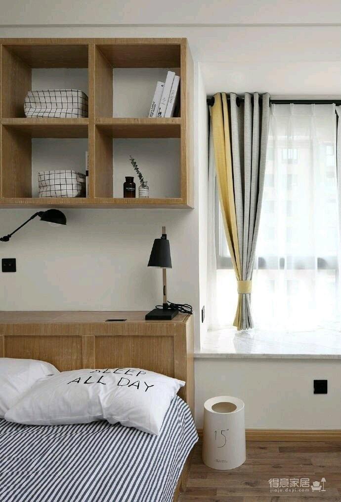 80平现代简约两居室,原木风好温暖!图_24