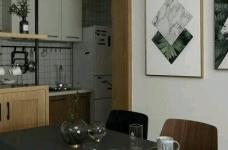 80平现代简约两居室,原木风好温暖!图_19