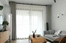 80平现代简约两居室,原木风好温暖!图_10